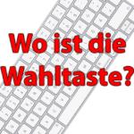 Apple Tastatur: Wo ist die Mac Wahltaste?