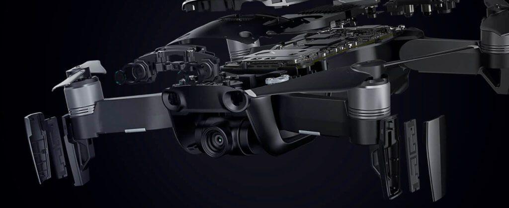 Soviel Technik steckt im neuen Quadrocopter von DJI.