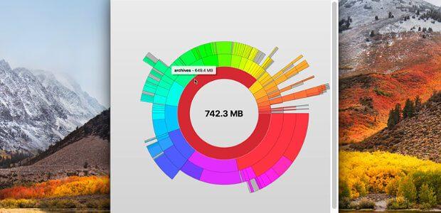 Die Disk Graph App für den Mac zeigt die Speicherbelegung der Festplatte(n) und anderer Speicher am Apple-Computer detailliert auf. Infos, Details und den Download findet ihr im Folgenden.