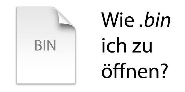 Am Apple Mac eine BIN-Datei öffnen, auslesen bzw. entpacken - das geht mit der richtigen Software für Mac OS X bzw. macOS.