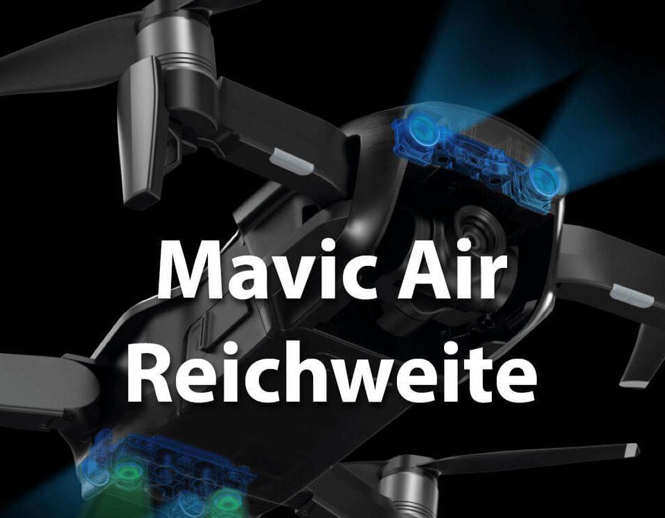 Die gute Reichweite der Mavic Air basiert auf einer verbesserten Wifi-Übertragungstechnik.