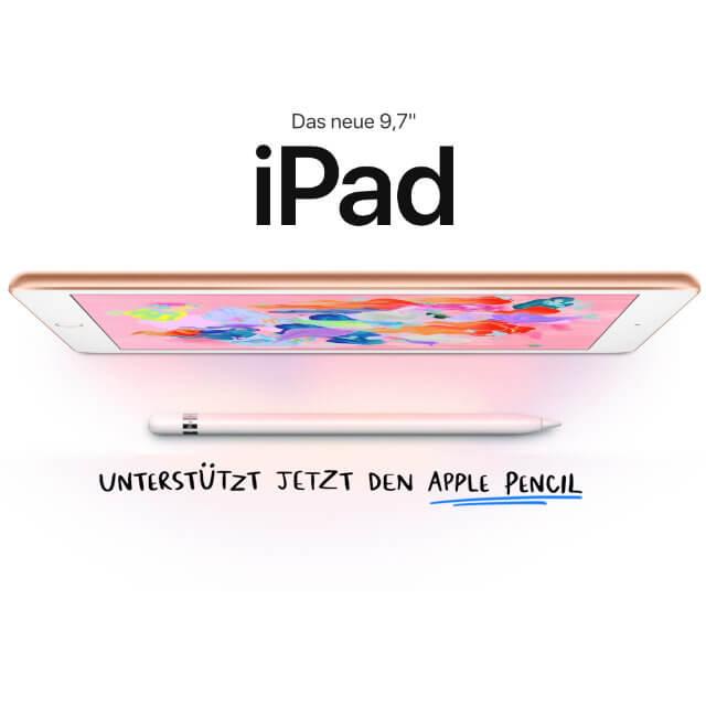 apple ipad 9 7 2018 technische daten preis hands on video. Black Bedroom Furniture Sets. Home Design Ideas