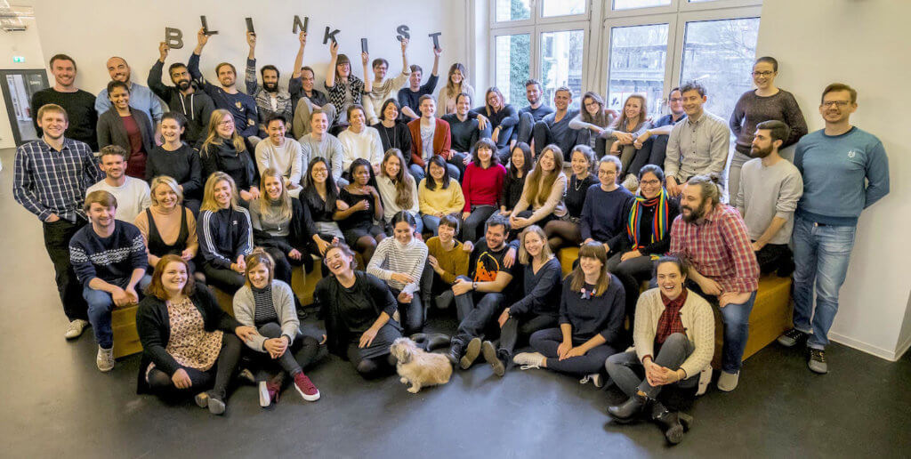 Gut 50 Leute arbeiten bei Blinkist in Berlin daran, Bücher zu