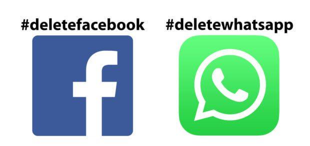 Delete Facebook als Aufruf, das Nutzerkonto im sozialen Netzwerk zu löschen macht gerade die Runde. Das Gleiche passiert beim WhatsApp-Messenger. Was haltet ihr von #deletefacebook und #deletewhatsapp?