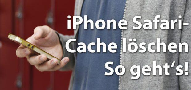 Wollt ihr den iPhone Safari Cache leeren, um den Zwischenspeicher des Apple Browsers unter iOS zu löschen? Dann habe ich hier die richtige Anleitung für euch!