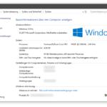 Technische Daten und Details zum verwendeten Lenovo-Laptop mit Windows 10.