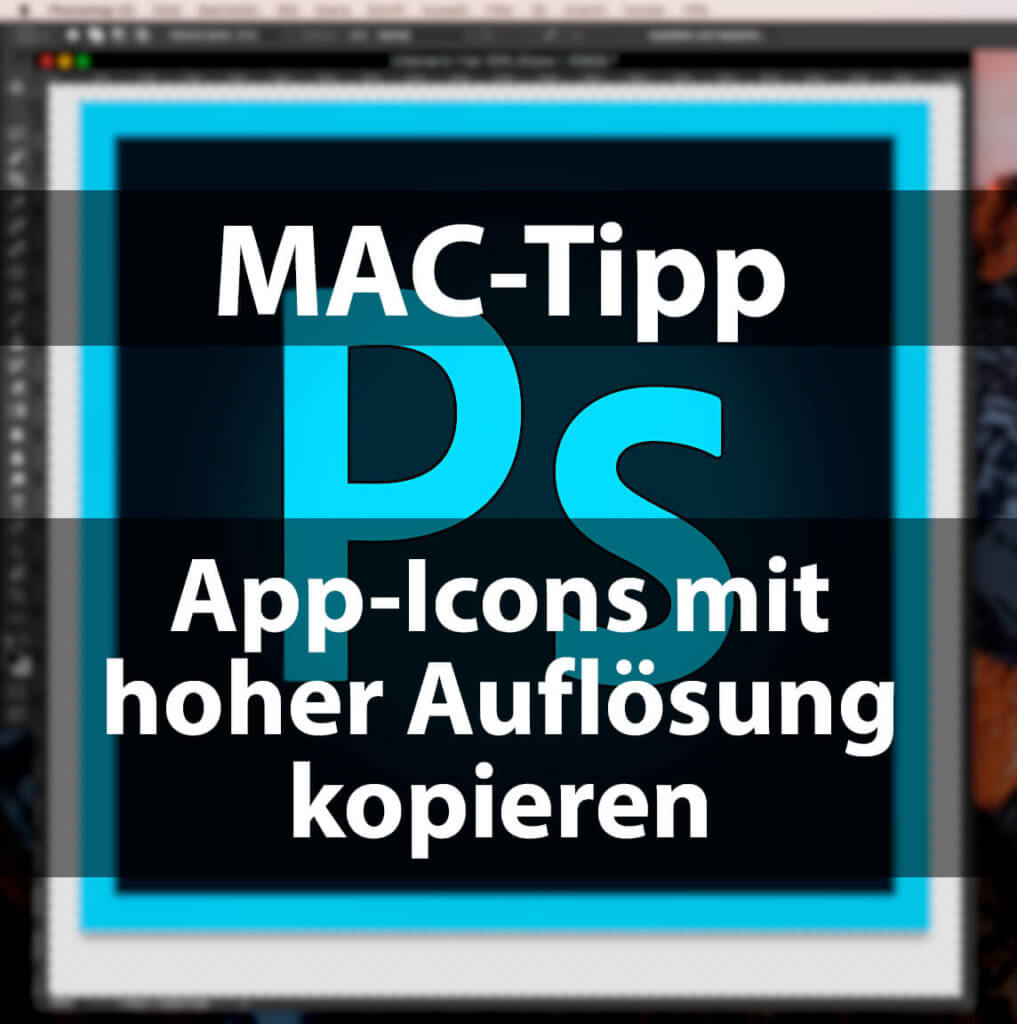 Anleitung: so kopierst du das Icon von Mac-Apps in hoher Auflösung in die Zwischenablage