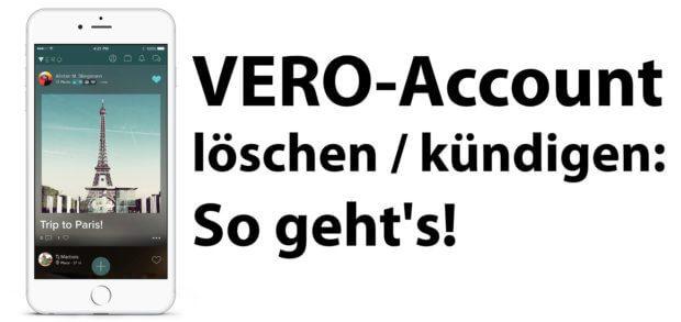 Du willst also deinen Vero Account löschen und möchtest eine Schritt-für-Schritt-Anleitung dafür? Hier findest du sie ;)