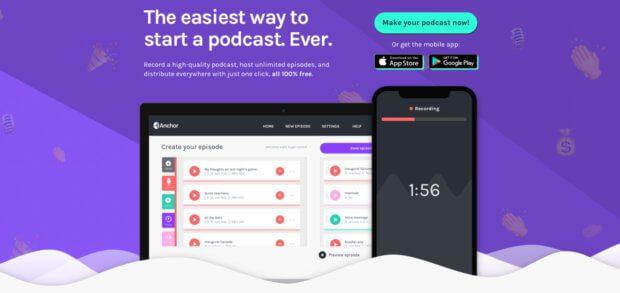 Anchor.FM ist eine weitere, einfache Lösung, um Podcasts aufzunehmen und zu senden - direkt per App über iPhone, iPad oder Android-Gerät.