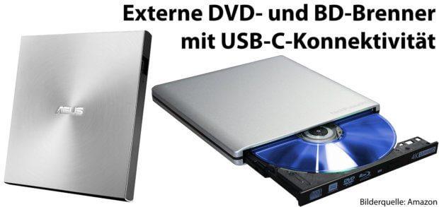 Externe Usb C Dvd Und Blu Ray Brenner Für Apple Mac