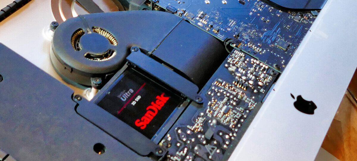 Lohnt sich der Einbau einer reinen SSD, wenn der Mac schon über ein Fusion Drive verfügt? Laut Jürgens Meinung kann man hier ganz klar mit