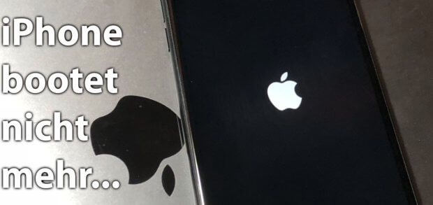 Das iPhone hängt beim Apple Logo und / oder verliert sich im Boot-Loop. Diese Tipps und Tricks könnten die Lösung für euer Problem sein!