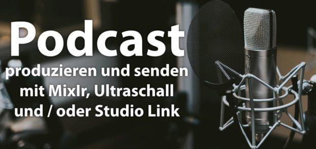 Ihr wollt einen Live-Podcast bzw. eine Radiosendung produzieren und über das Internet sowie Apps veröffentlichen? Hier einige Lösungen für euer Projekt!