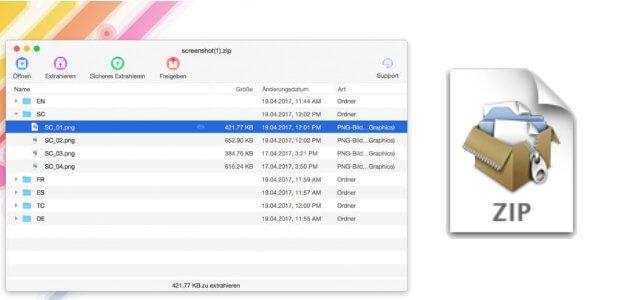 Gepackte Dateien einsehen und einen Blick in Archive werfen, ohne sie entpacken zu müssen - das geht per App und Quick-Look-Plugin.