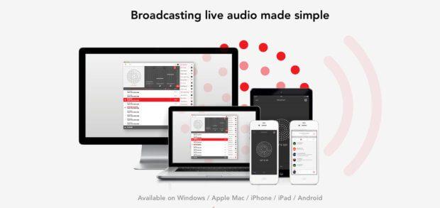 Mixlr ist sozusagen eine Alternative zu allem genannten. DIe englische Software dient vor allem Live-Podcasts, die über die eigene Webseite veröffentlicht werden sollen.