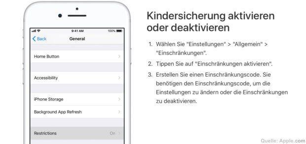 Mit der Pinfinder App für macOS, Linux und Windows könnt ihr mit einem iOS-Backup den Einschränkungscode knacken respektive die Kindersicherung aushebeln. Das funktioniert mit Apple iPhone, iPad und iPod Touch.