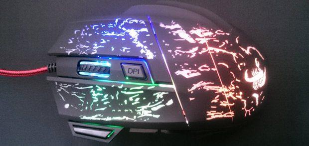 Test der Gaming Maus AUKEY KM-C1. Das beleuchtete und ergonomische Eingabegerät hat gut abgeschnitten.
