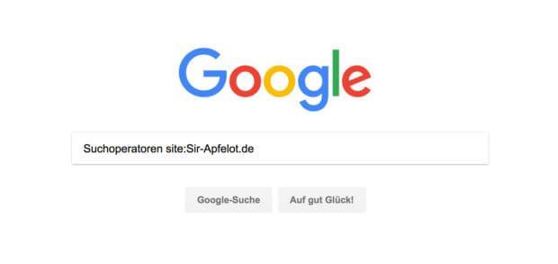 Google Suchoperatoren helfen, Ergebnisse bei der Suche nach bestimmten Begriffen zu verfeinern und das Finden zu vereinfachen.