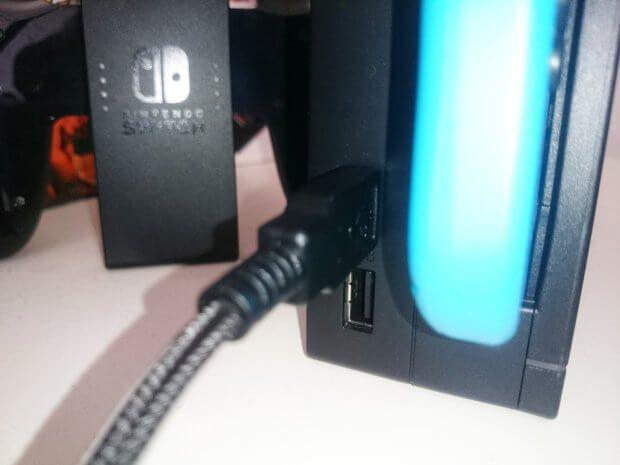 Verwendung des Headsets an der Nintendo Switch