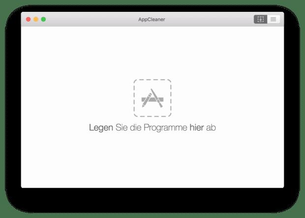 Der AppCleaner ist meine Empfehlung zum kompletten Löschen von Programmen auf dem Apple Mac unter macOS.