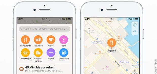 Apple Karten auf dem iPhone sowie auf iPad, Mac und Apple Watch ist besser als Google Maps - und hier erfahrt ihr, warum!