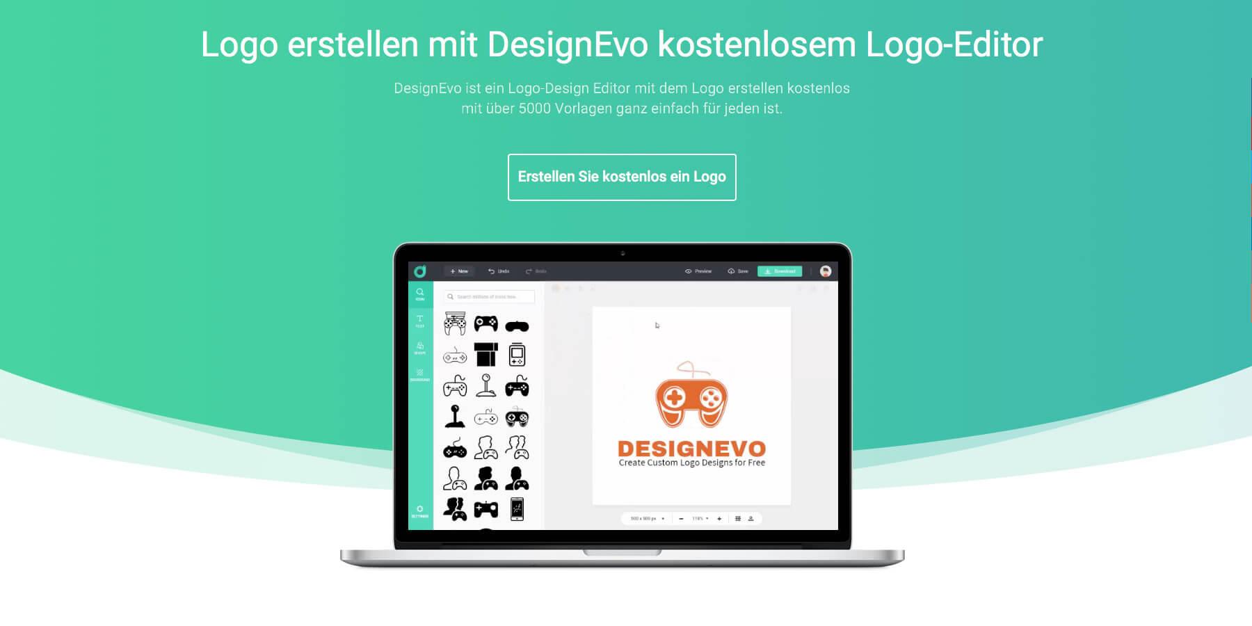 Designevo Im Test Online Kostenlos Ein Logo Erstellen