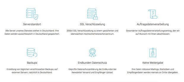rapidmail ist datenschutzkonform nach EU-DSGVO. Das zeigt der Anbieter auf seiner Webseite.