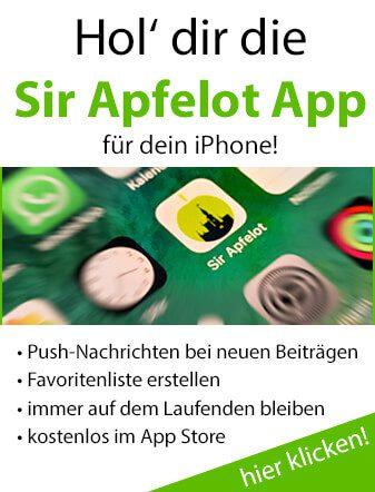 Hol dir die Sir-Apfelot-App!