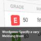 Wordpress Specify a vary Meldung lösen