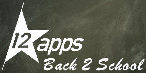 Die 12★apps Back2School Edition bringt euch 18 Apps für macOS / Mac und iOS / iPhone sowie iPad zum kleinen Preis.
