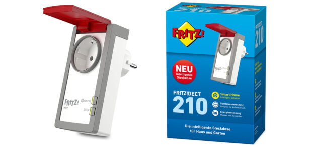 Fritz Dect 210 Smart Home Steckdose Fur Den Aussenbereich Sir Apfelot