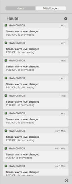 HWSensors / HWMonitor App: Gratis Mac-Tool zeigt Sensorwerte