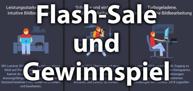 Die professionelle Fotobearbeitung mit Skylum Luminar 2018 könnt ihr diese Woche dank Flash-Sale für 49 EUR statt 69 EUR in Angriff nehmen. Oder ihr sichert euch eine Kostenlos-Lizenz im Gewinnspiel!