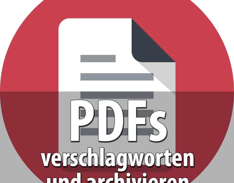 Beitragsbild PDF Archiver
