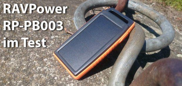 Im Test der RAVPower RP-PB003 Powerbank mit Solarpanel und Taschenlampe habe ich die verschiedenen Funktionen des Geräts getestet.