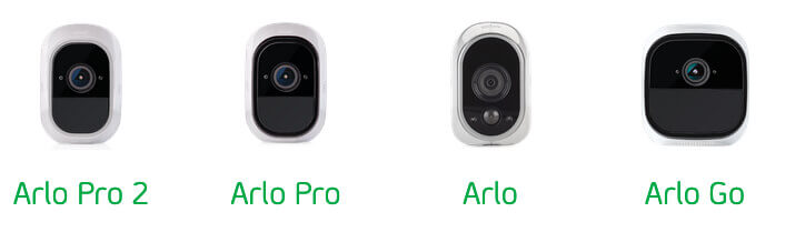 Neben den hier aufgezeigten Modellen ist auch die Arlo Ultra mit einem Akku ausgestattet (Foto: Arlo.com).