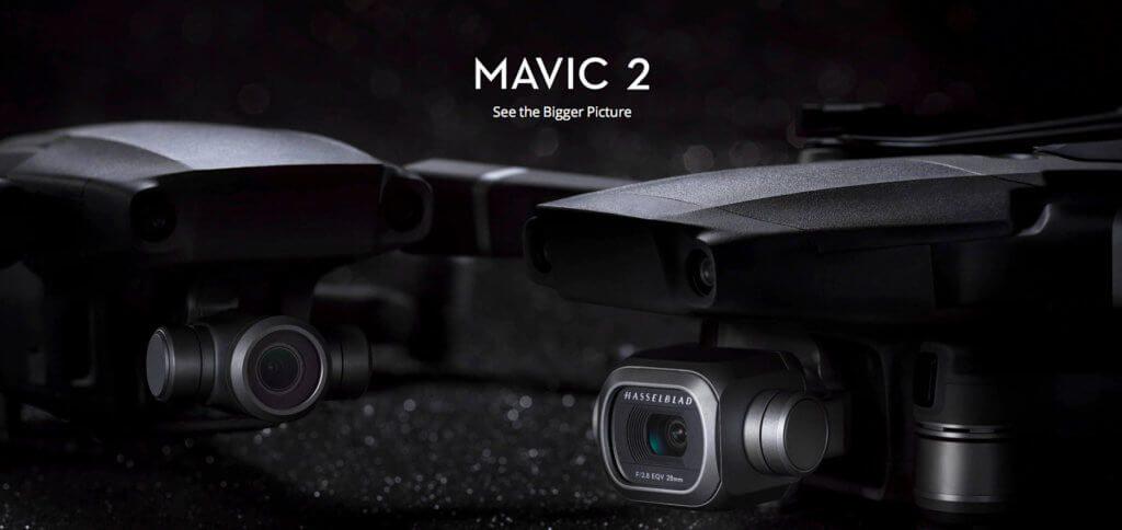 Technische Daten vom DJI Mavic 2 Pro Datenblatt findet ihr hier - Informationen und Details zu Fluggerät, Kamera, Gimbal, Akku, Controller und Lieferumgang.