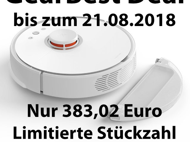 GearBest Deal: Roborock S50 Staubsauger-Roboter billiger