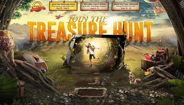 Beim GearBest Treasure Hunt Sale 2018 gibt's zahlreiche Deals, Aktionen, Coupons, Gutscheine und kostenlose Give Aways.