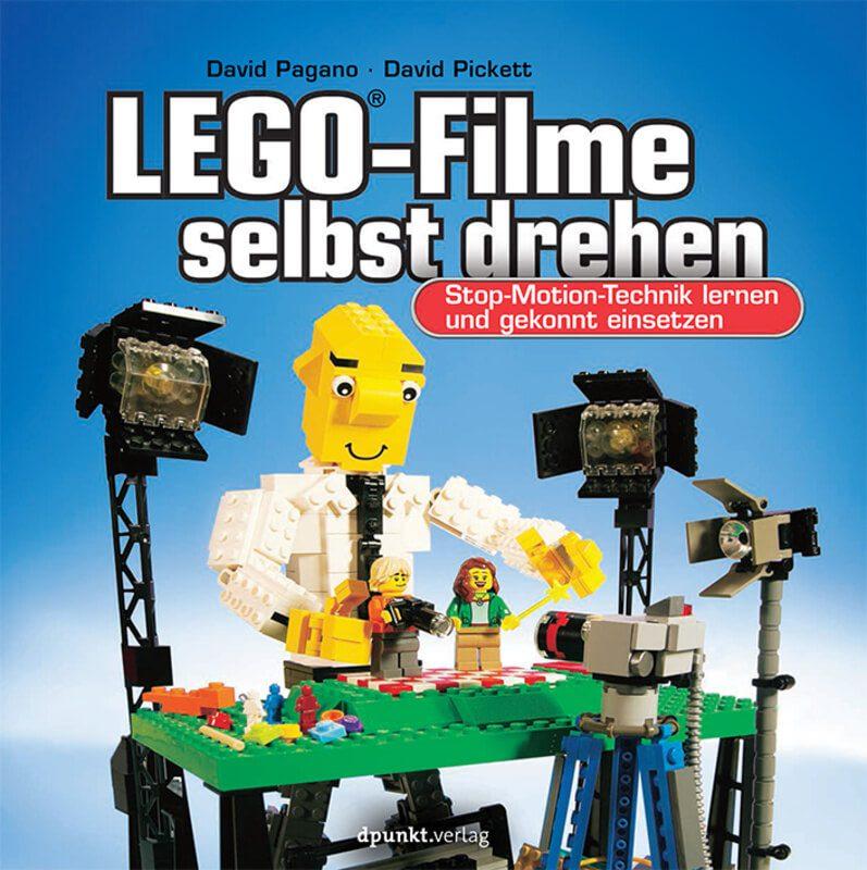 LEGO Filme selbst drehen - das Buch von David Pagano und David Pickett bietet Profi-Tipps, Bilder und Details zu allen Bereichen von Bildfrequenz über Licht und Ton hin zur Ideen-Findung. Bildquelle: Verlag