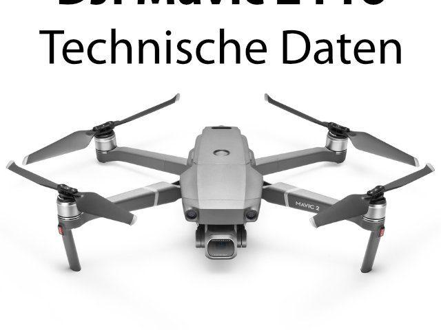 Datenblatt - DJI Mavic 2 Pro technisch Daten.