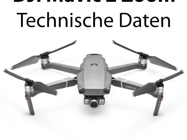 Datenblatt - DJI Mavic 2 Zoom technisch Daten.