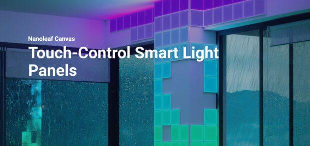 Nanoleaf Canvas - das sind neue LED-Module für individuelles Licht im Smart Home. Ab diesem Winter gibt es sie zu kaufen. Nanoleaf's New Lighting System, Products to Buy later this Year
