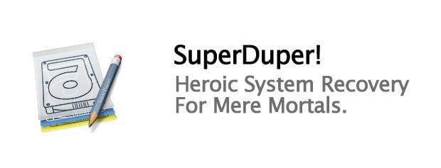 Die SuperDuper! App ist eine Backup Software für den Apple Mac, mit dem ihr einen bootfähigen Klon der Festplatte erstellen könnt.