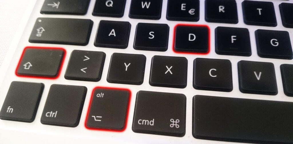 Das TM-Zeichen eingeben, um das ™ Symbol per Tastenkürzel zu erhalten - das geht mit drei Tasten am Mac.