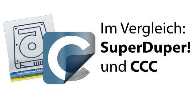 Kurz und knapp: Carbon Copy Cloner und SuperDuper! im Vergleich. Welche Mac Backup App ist die beste für euch?