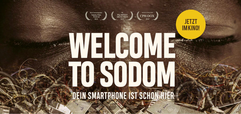 Die Welcome to Sodom Dokumentation zeigt die größte Elektroschrott-Müllhalde Europas. Sie liegt im afrikanischen Land Ghana, wo mehrere tausend Menschen den Müll nach Verwertbarem durchsuchen.