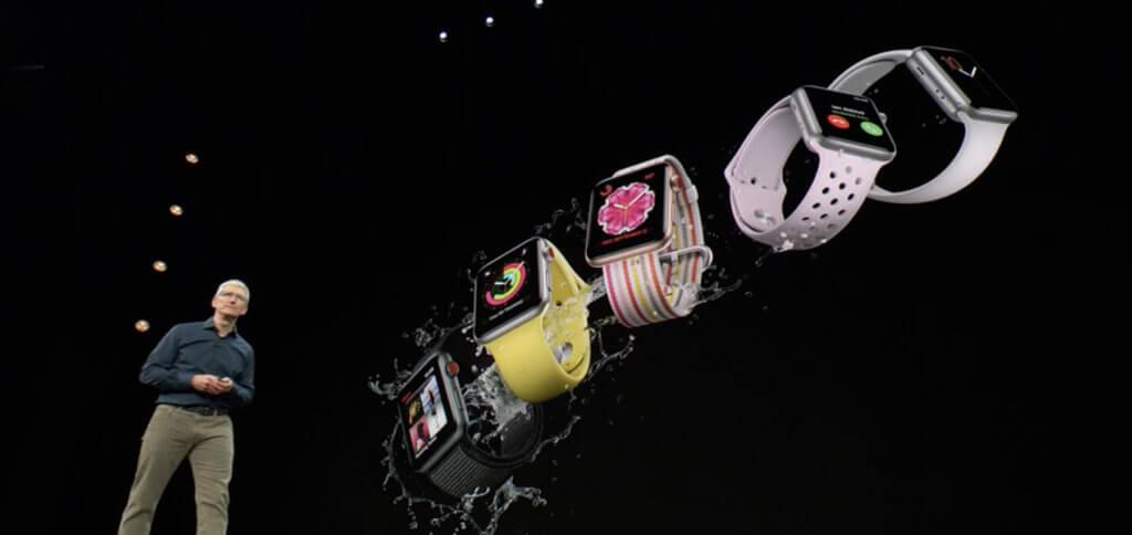 Ganz nebenbei: die Armbänder der Watch-Modelle von Series 1 bis Series 4 sind mit allen Modellen kompatibel.