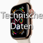 Apple Watch Series 4 - Technische Daten