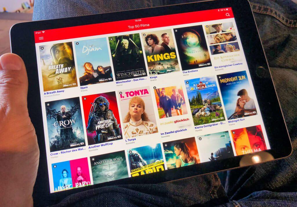 In der Diveo-App gibt es eine Ansicht der Top50-Filme, die in Kooperation mit videociety erstellt wurde.